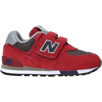 Boty Děti Nízké tenisky New Balance NBIV574FNB Červené