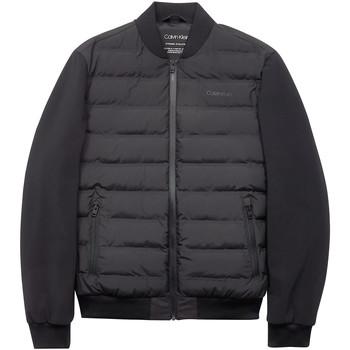Textil Muži Prošívané bundy Calvin Klein Jeans K10K104901 Černá