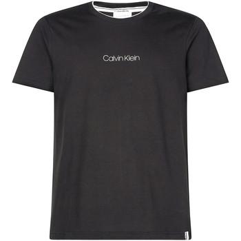 Textil Muži Trička s krátkým rukávem Calvin Klein Jeans K10K104934 Černá