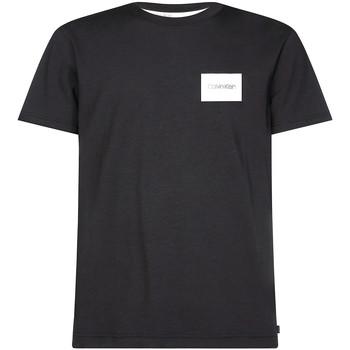 Textil Muži Trička s krátkým rukávem Calvin Klein Jeans K10K104939 Černá