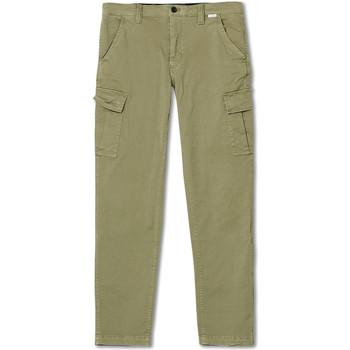 Textil Muži Cargo trousers  Calvin Klein Jeans K10K105302 Zelený