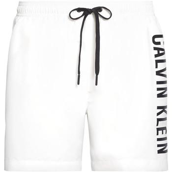 Textil Muži Plavky / Kraťasy Calvin Klein Jeans KM0KM00452 Bílý