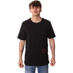 Textil Muži Trička s krátkým rukávem Calvin Klein Jeans 00GMH9K287 Černá