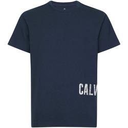 Textil Muži Trička s krátkým rukávem Calvin Klein Jeans 00GMH9K287 Modrý
