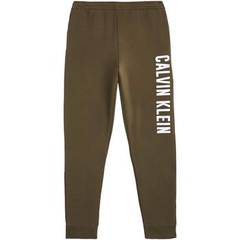 Textil Muži Teplákové kalhoty Calvin Klein Jeans 00GMH9P680 Zelený