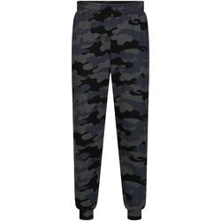 Textil Muži Teplákové kalhoty Calvin Klein Jeans 00GMH9P683 Černá