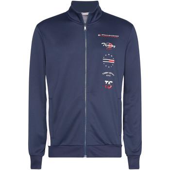 Textil Muži Bundy Tommy Hilfiger S20S200317 Modrý