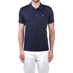 Textil Muži Polo s krátkými rukávy Navigare NV72058 Modrý