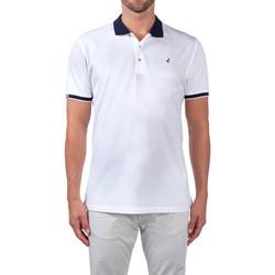 Textil Muži Polo s krátkými rukávy Navigare NV72058 Bílý