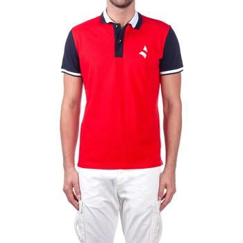 Textil Muži Polo s krátkými rukávy Navigare NV82115 Červené
