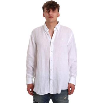 Textil Muži Košile s dlouhymi rukávy Navigare NV91108 Bílý