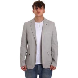 Textil Muži Saka / Blejzry Gaudi 011BU35025 Šedá