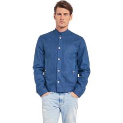 Textil Muži Bundy Gaudi 011BU38005 Modrý