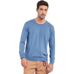 Textil Muži Svetry Gaudi 011BU53024 Modrý