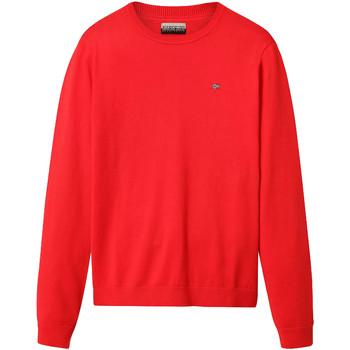 Textil Muži Svetry Napapijri NP0A4E2H Červené