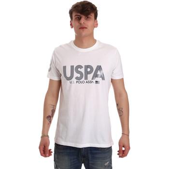 Textil Muži Trička s krátkým rukávem U.S Polo Assn. 57197 49351 Bílý