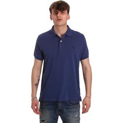 Textil Muži Polo s krátkými rukávy U.S Polo Assn. 55957 41029 Modrý