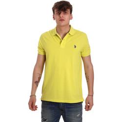 Textil Muži Polo s krátkými rukávy U.S Polo Assn. 55957 41029 Žlutá