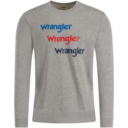 Textil Muži Mikiny Wrangler W6A5HAX37 Šedá