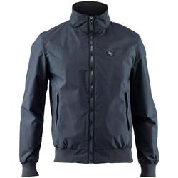 Textil Muži Bundy Lumberjack CM79624 001 404 Modrý