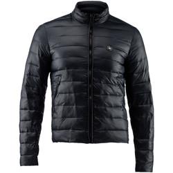 Textil Muži Prošívané bundy Lumberjack CM68722 004 405 Černá