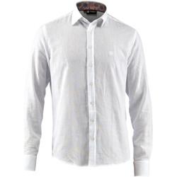 Textil Muži Košile s dlouhymi rukávy Lumberjack CM80846 001 603 Bílý
