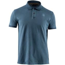 Textil Muži Polo s krátkými rukávy Lumberjack CM45940 007 516 Modrý