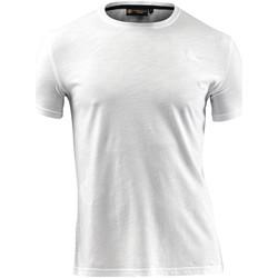 Textil Muži Trička s krátkým rukávem Lumberjack CM60343 004 517 Bílý