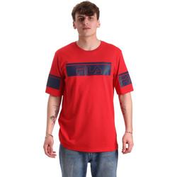 Textil Muži Trička s krátkým rukávem Fila 683085 Červené