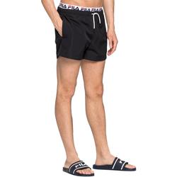 Textil Muži Plavky / Kraťasy Fila 687742 Černá