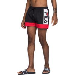 Textil Muži Plavky / Kraťasy Fila 687743 Černá