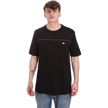 Textil Muži Trička s krátkým rukávem Antony Morato MMKS01696 FA100144 Černá