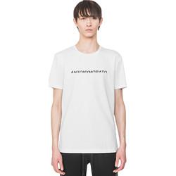 Textil Muži Trička s krátkým rukávem Antony Morato MMKS01754 FA100144 Bílý