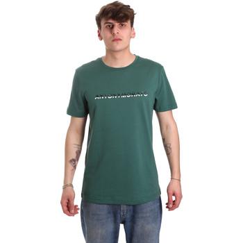 Textil Muži Trička s krátkým rukávem Antony Morato MMKS01754 FA100144 Zelený