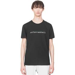Textil Muži Trička s krátkým rukávem Antony Morato MMKS01754 FA100144 Černá