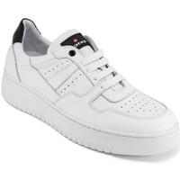 Boty Muži Nízké tenisky Exton 427 Bílý