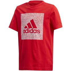 Textil Děti Trička s krátkým rukávem adidas Originals FM4489 Červené