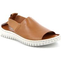 Boty Ženy Sandály Grunland SA2538 Hnědý