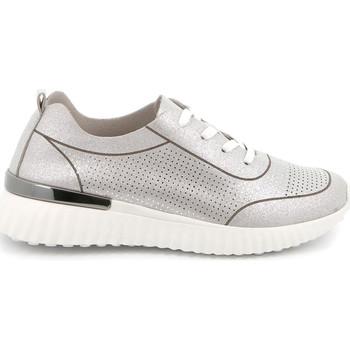 Boty Ženy Nízké tenisky Grunland SC4905 Stříbrný