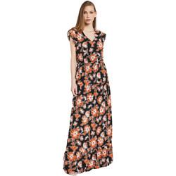 Textil Ženy Společenské šaty Gaudi 011BD15020 Černá