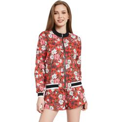 Textil Ženy Bundy Gaudi 011BD35021 Červené