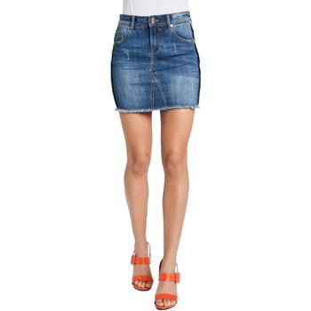 Textil Ženy Sukně Gaudi 011BD76001 Modrý