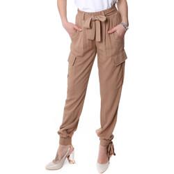 Textil Ženy Cargo trousers  Fracomina FR20SP127 Béžový