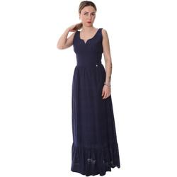 Textil Ženy Společenské šaty Fracomina FR20SP588 Modrý