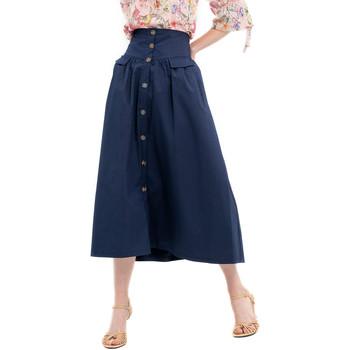 Textil Ženy Sukně Fracomina FR20SP133 Modrý