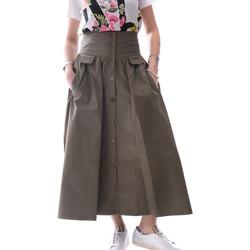 Textil Ženy Sukně Fracomina FR20SP133 Zelený