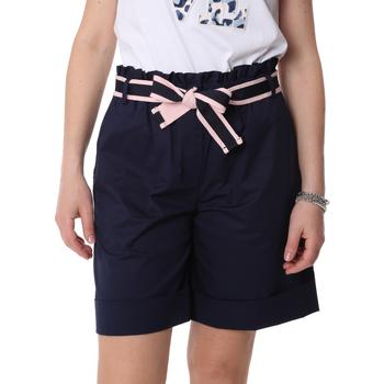 Textil Ženy Kraťasy / Bermudy Fracomina FR20SP606 Modrý