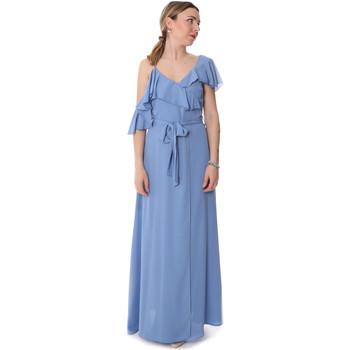 Textil Ženy Společenské šaty Fracomina FR20SP031 Modrý