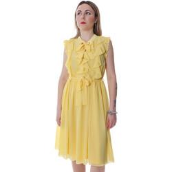 Textil Ženy Krátké šaty Fracomina FR20SP536 Žlutá