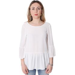 Textil Ženy Halenky / Blůzy Fracomina FR20SP040 Bílý